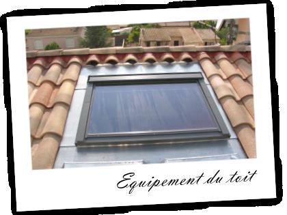 Nous intervenons dans le domaine de l'équipement du toit : voici quelques exemples